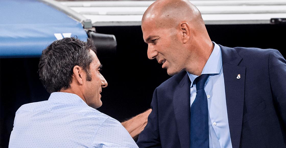 """""""Lo siento"""": El mensaje de Zidane por la salida del Valverde del Barcelona"""