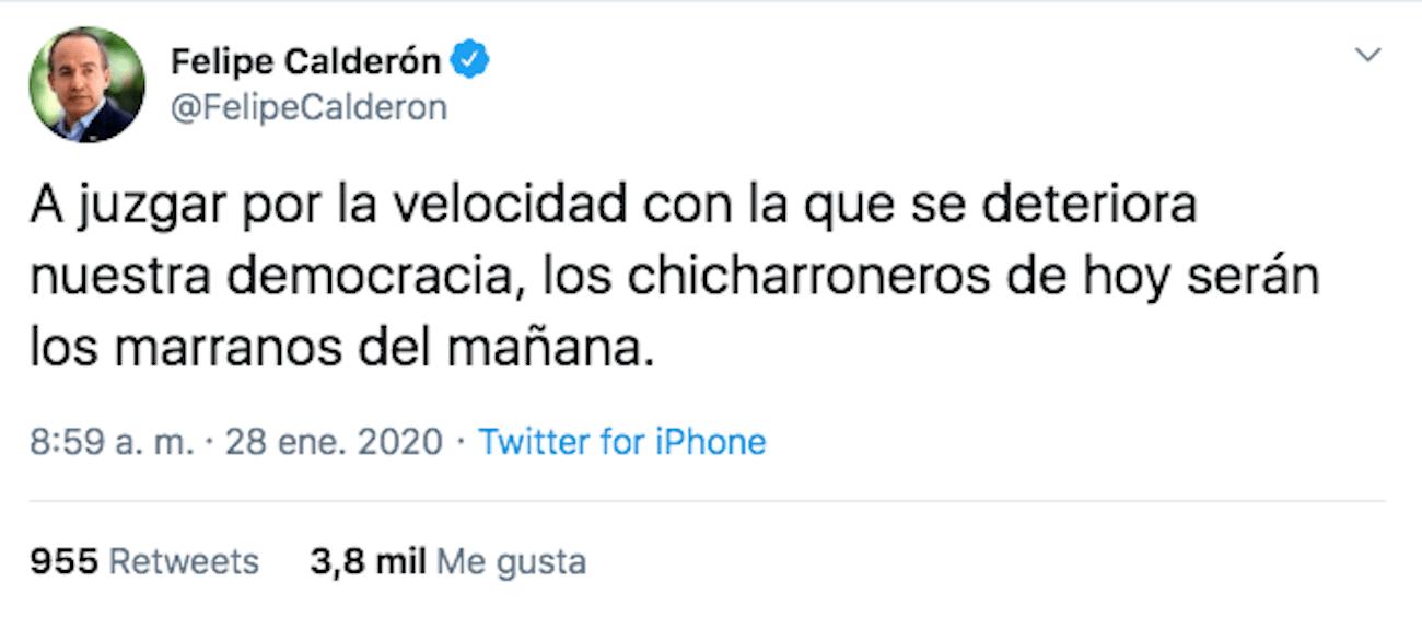 Felipe-calderón-tuit-chicharroneros