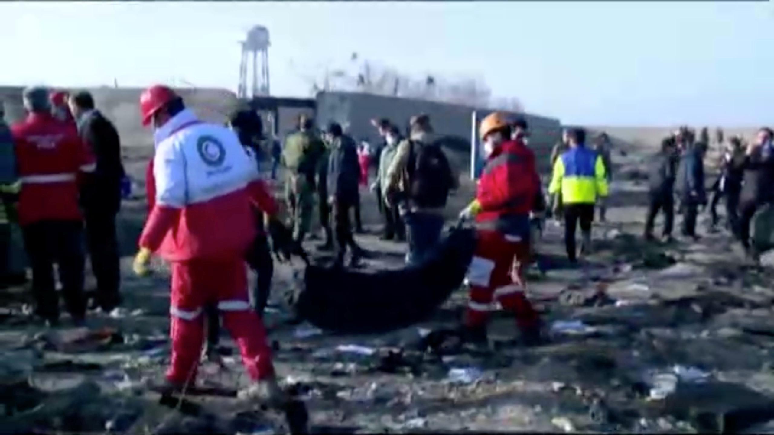 No hay sobrevivientes del avión ucraniano que se estrelló en Irán; 176 muertos