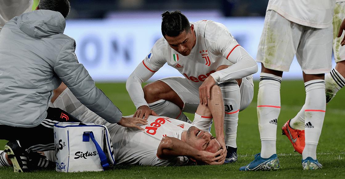 Juventus confirmó rotura de ligamento cruzado de Meri Demiral