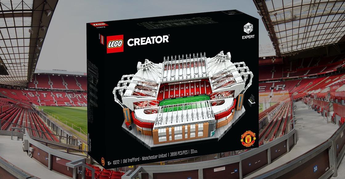 Lego pone a la venta un set especial de Old Trafford