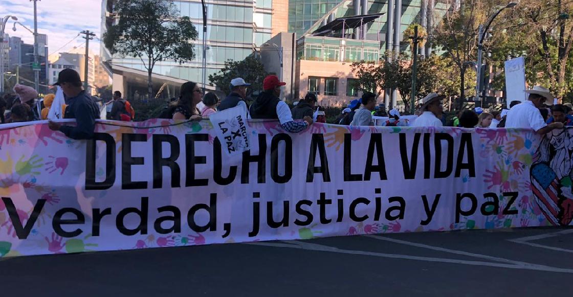 En imágenes: Caminata por la Verdad, Justicia y Paz