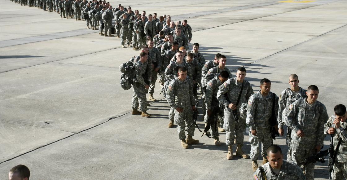 Van pa´ fuera: El parlamento de Irak ya aprobó una moción para que las tropas de EUA salgan del país