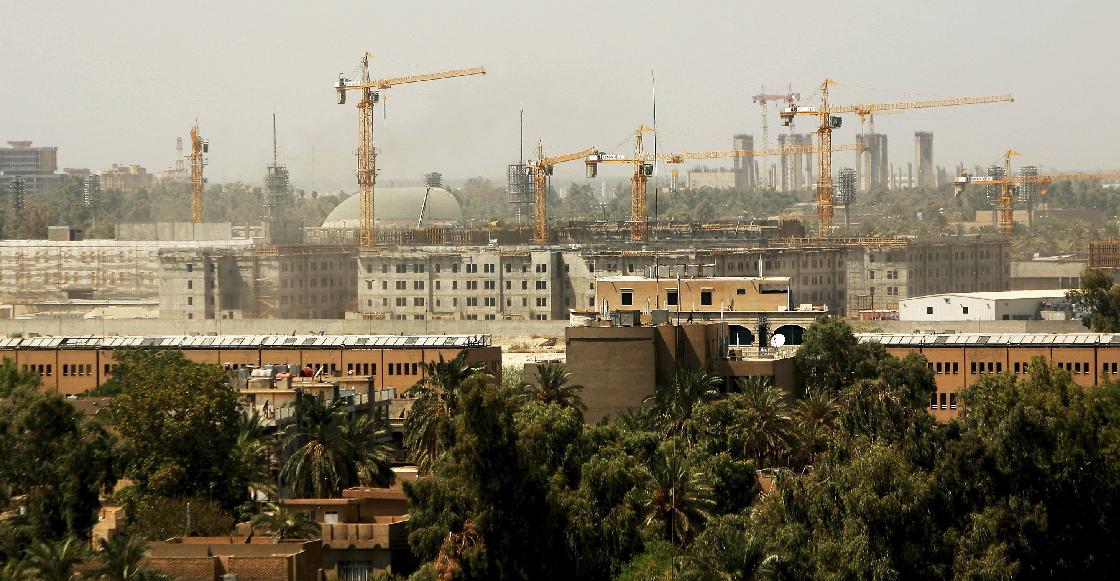 Impactan tres misiles la embajada de Estados Unidos en Bagdad