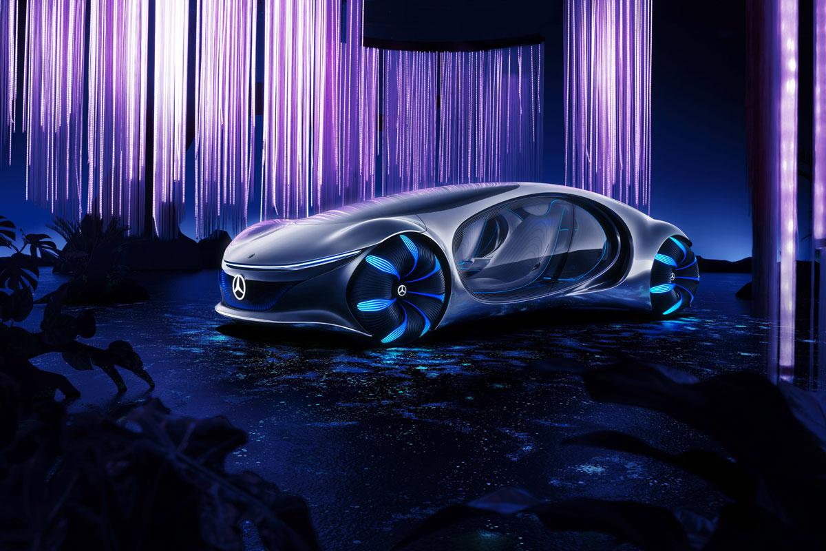 Vision Avtr el coche conceptual del futuro / Foto: Mercedes Benz