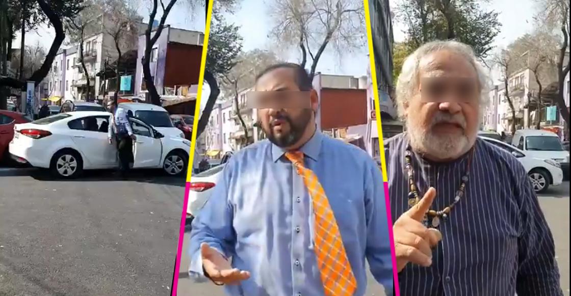Supuestos trabajadores de la SEIDO amenazan por exigirles liberar paso peatonal