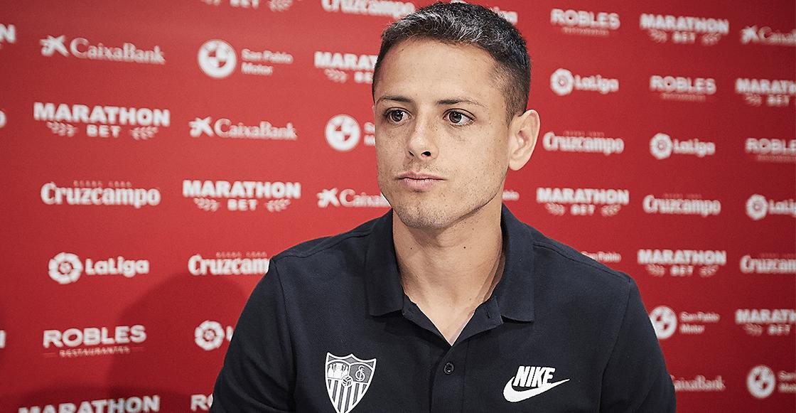 Sevilla confirmó salida del 'Chicharito' Hernández