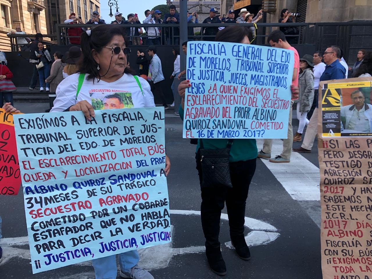 En imágenes: Así se vive la Caminata por la Verdad, Justicia y Paz en CDMX
