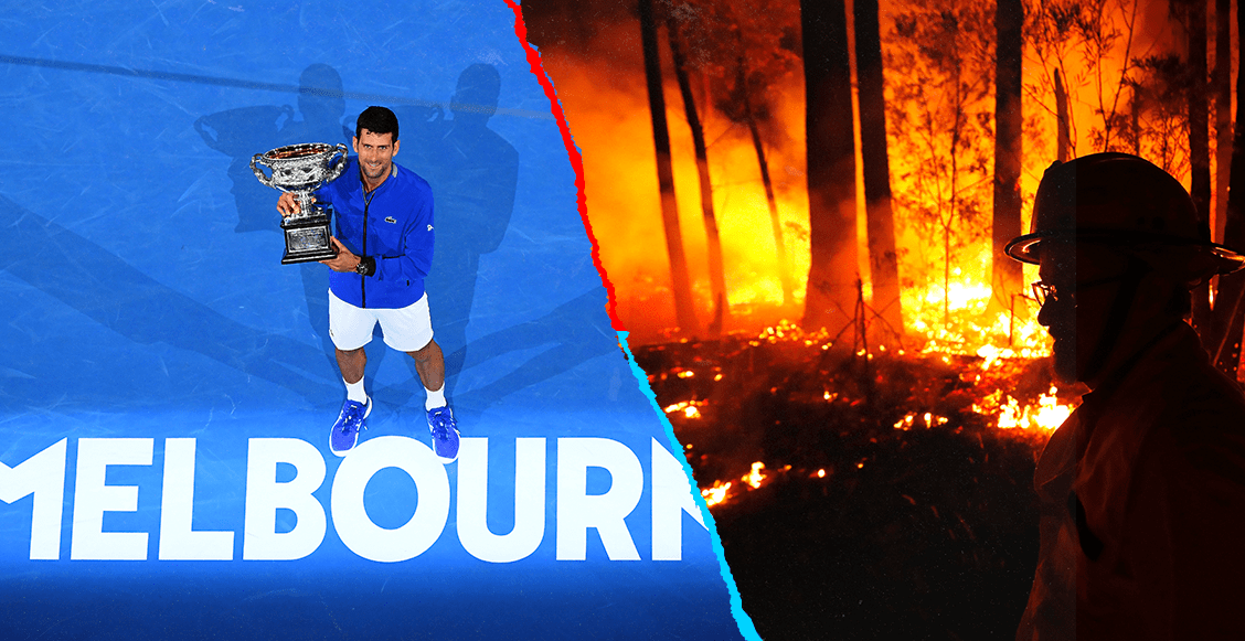 Abierto de Australia podría posponerse por los devastadores incendios
