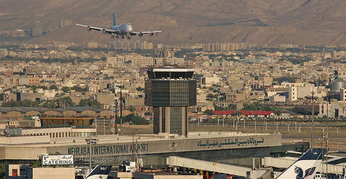 aeropuerto Teherán accidente
