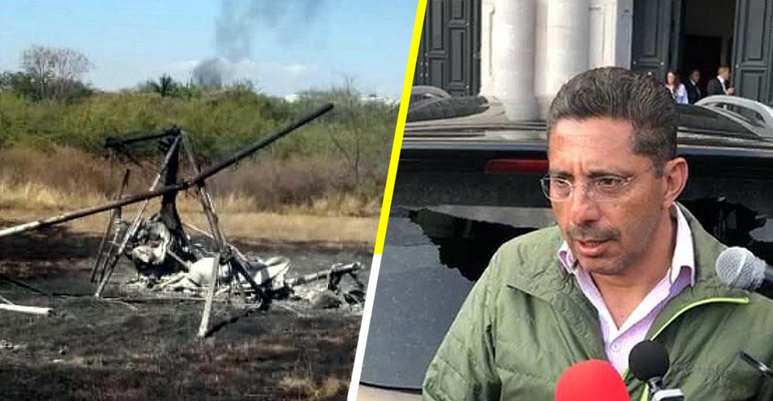 Muere alcalde de Ocuilán, Estado de México, luego de que se desplomara avioneta donde viajaba