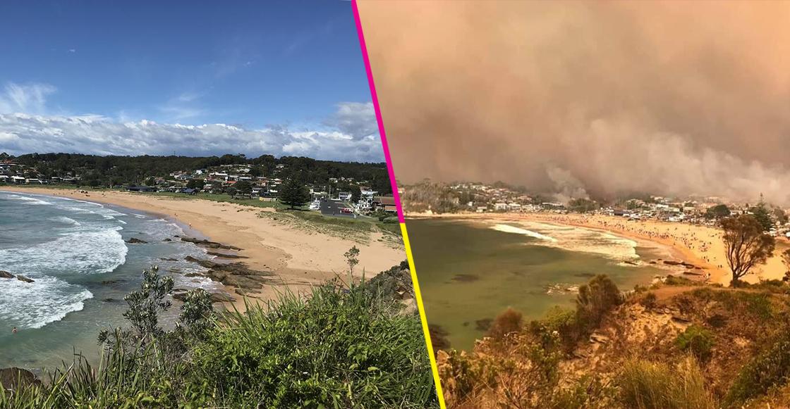 En imágenes: El antes y después de los devastadores incendios en Australia