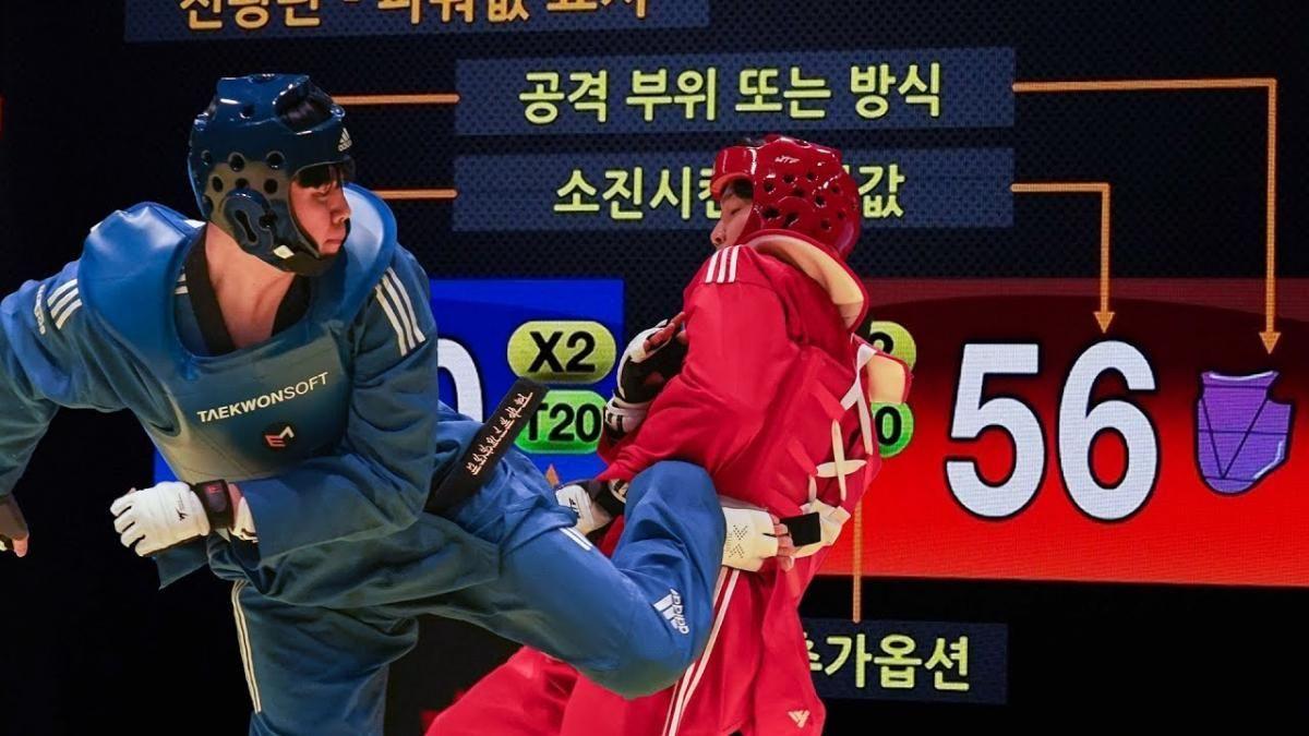 Quiero intentarlo: Corea puso en marcha peleas de Taekwondo al estilo del 'Street Fighter'