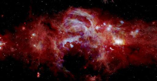 ¡Wow! La NASA tomó una fotografía con detalles nunca antes vistos del centro de la Vía Láctea