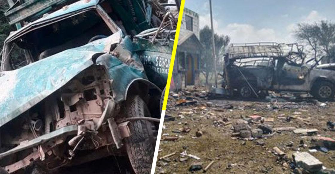 Localizan un vehículo con 10 cuerpos calcinados en Mexcalzingo-Tlayelpa