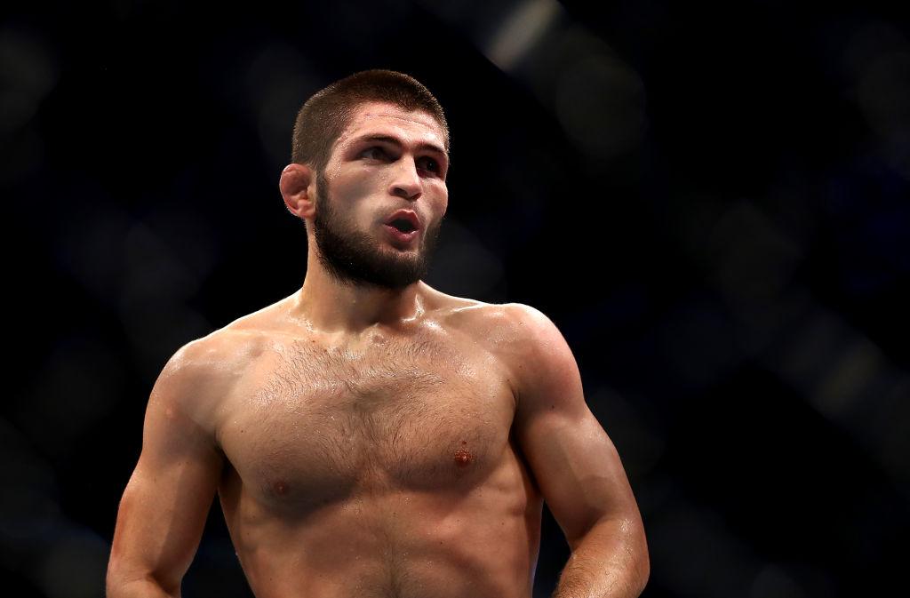 Las condiciones de Nurmagomedov para pelear contra Mayweather
