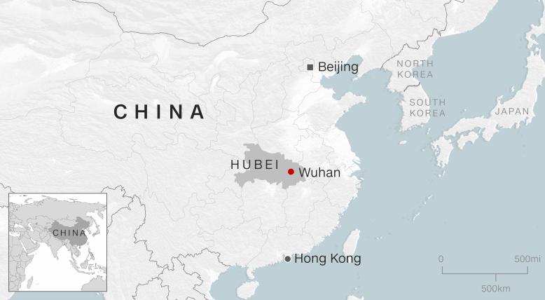 Nuevo virus en China suma más de 200 infectados y tres muertos