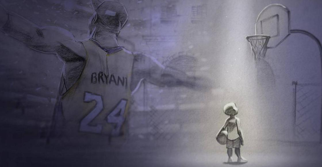 'Dear Basketball': El emotivo corto animado que le dio un premio Oscar a Kobe Bryant