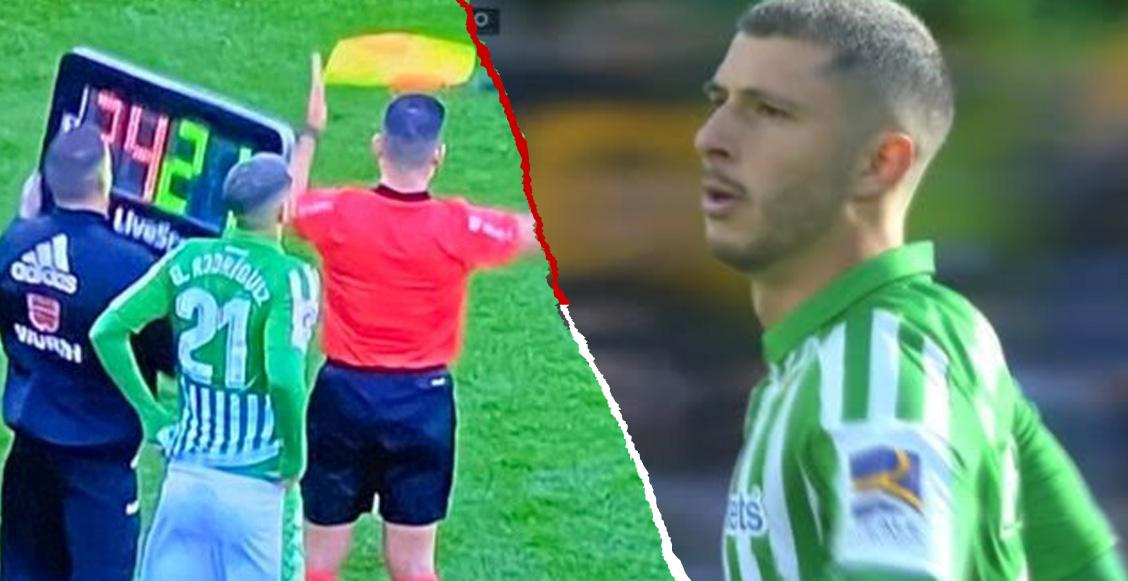 Así le fue a Guido Rodríguez en su debut con el Real Betis