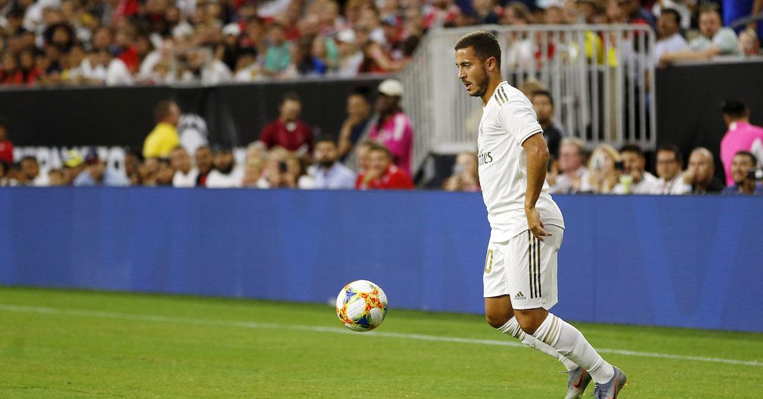 Hazard acepta que llegó bien panzón al Real Madrid: