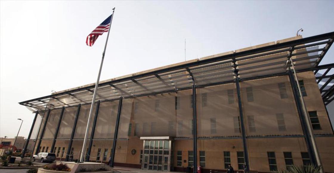 Tres misiles cayeron muy cerca de la embajada de Estados Unidos en Irak