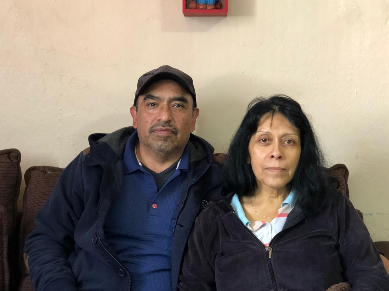 La señora Enedina fue detectada con cáncer y ahora sus hijos buscan recaudar dinero para ayudarla