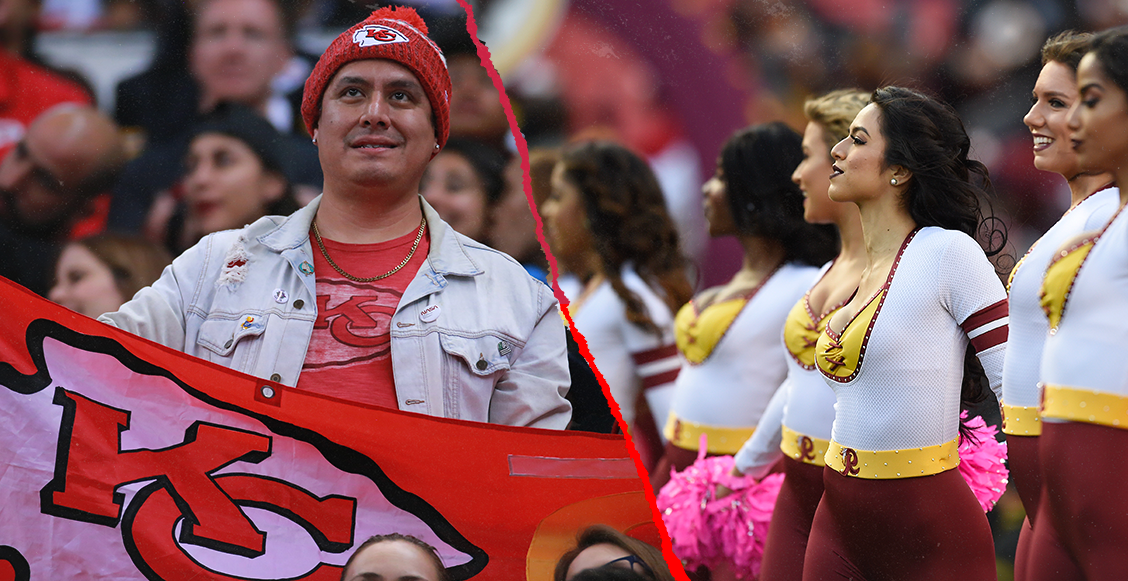 La pantalla más grande, porristas de los Redskins... Así será el primer Fanzone del Super Bowl en México