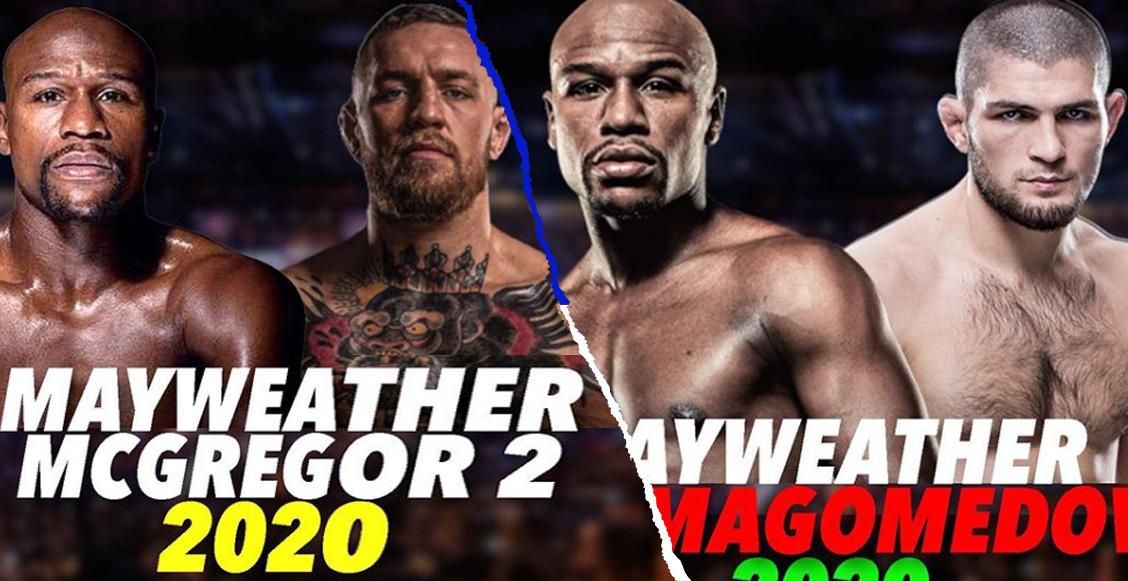 ¡Qué tiros! Mayweather anuncia posibles combates contra McGregor y Nurmagomedov