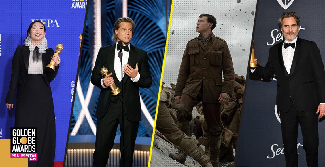 Estos son los ganadores de los Golden Globe Awards 2020