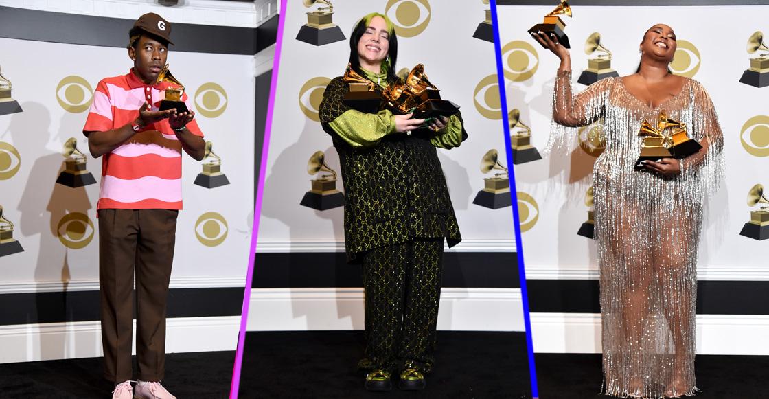 Billie Eilish domina los premios Grammy 2020 y hace historia con 4 categorías importantes