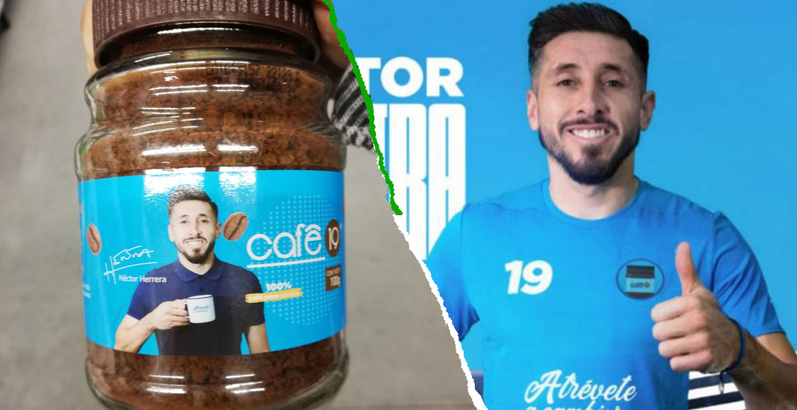 ¡Hermoso! Héctor Herrera se convirtió en 'el rostro' del café de Miguel Layún