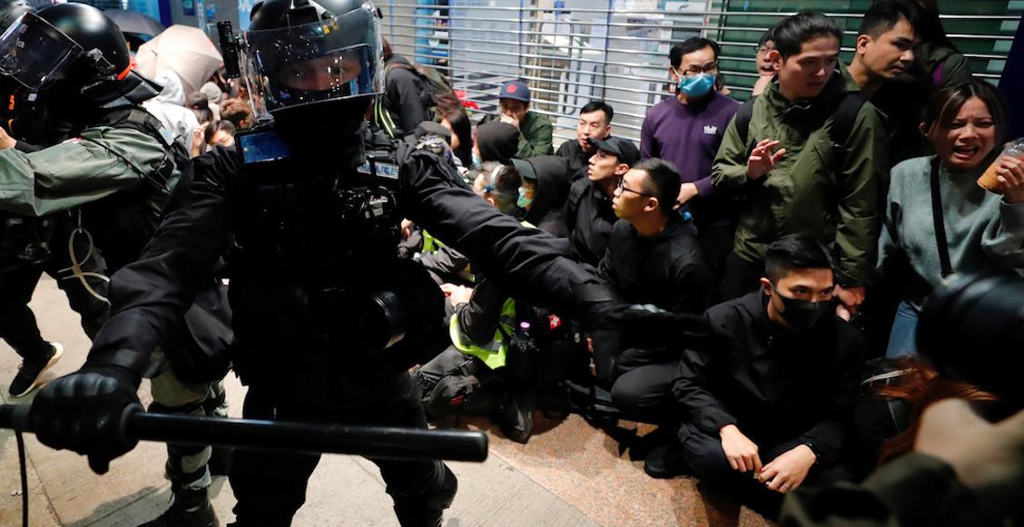 Hong Kong recibió el 2020 con la protesta de más de un millón de personas