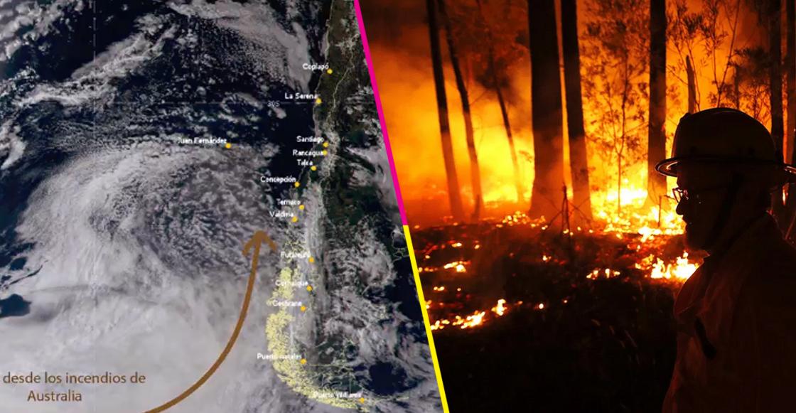Humo de incendios en Australia llegó hasta Argentina y Chile