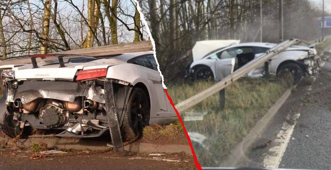 Lo que sabemos del aparatoso accidente de Sergio Romero en su Lamborghini