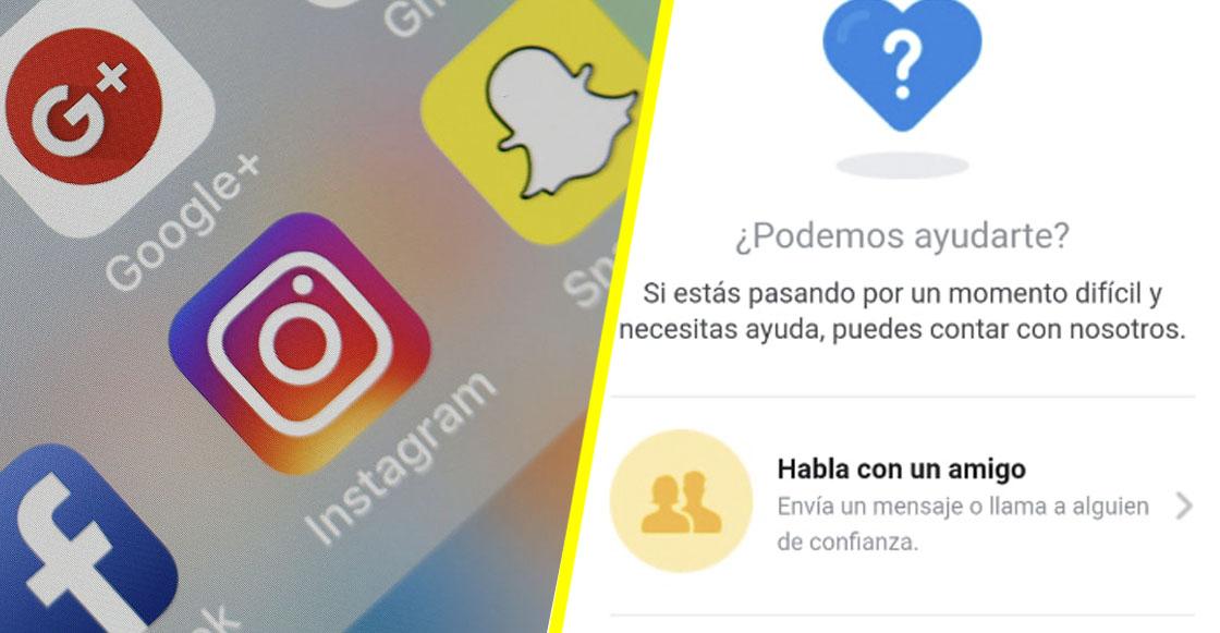 Esta es la función con la que Instagram brinda ayuda a personas con depresión