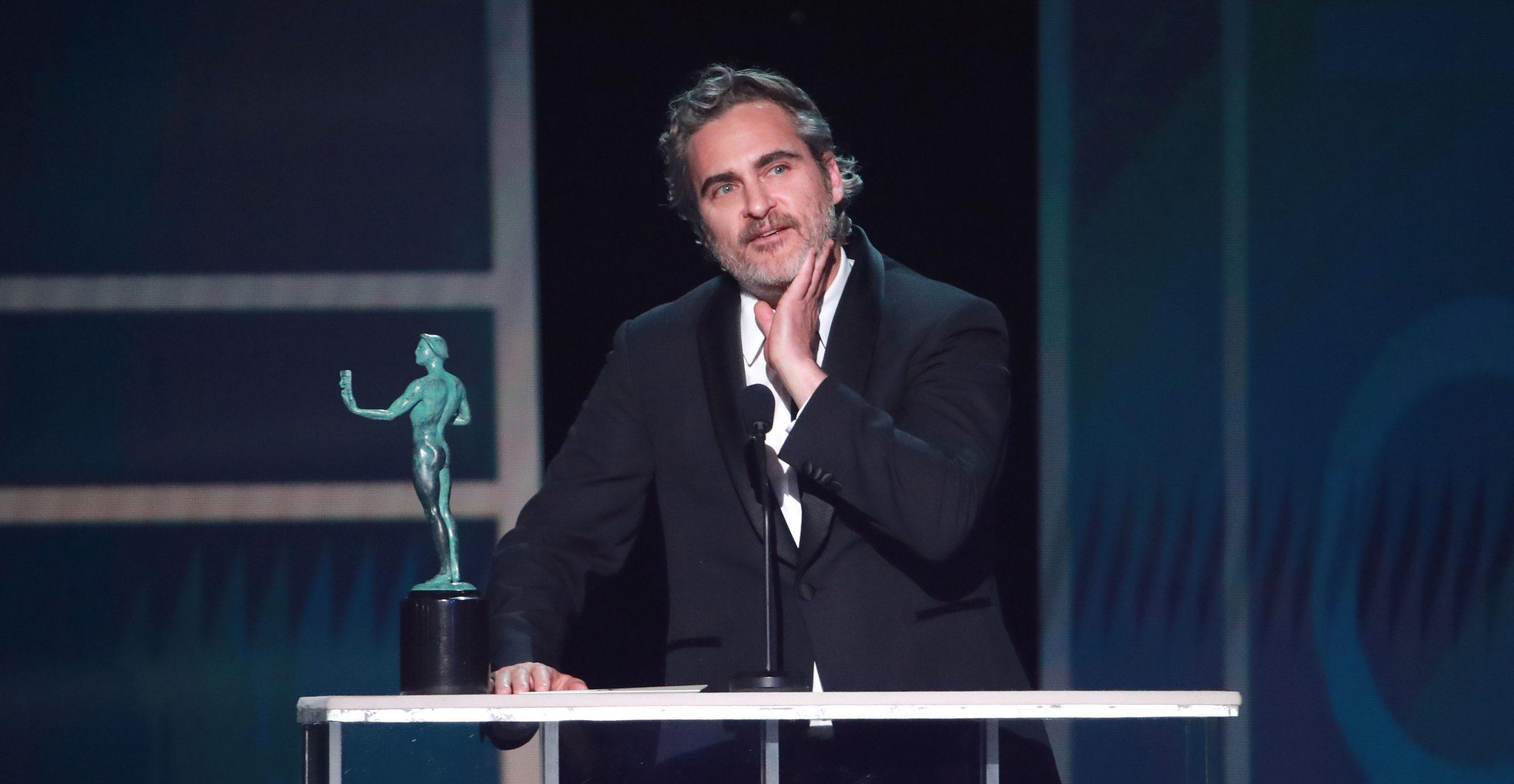 Joaquin Phoenix rindió tributo a Heath Ledger en discurso de los SAG Awards 2020
