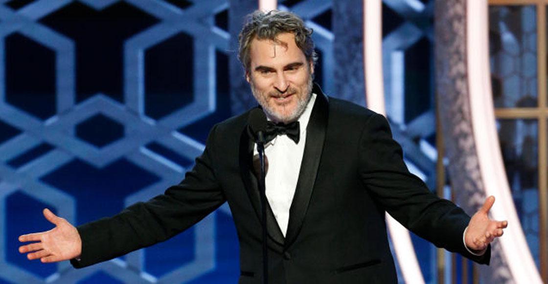 Tipazo: Joaquin Phoenix usará el mismo traje en todas las ceremonias de premios de 2020 para ayudar al ambiente