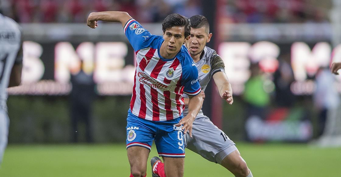 Chivas pierde a José Juan Macías durante dos semanas tras confirmarse lesión