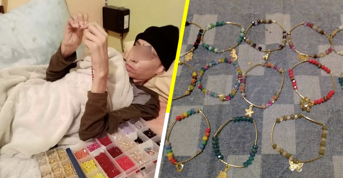 Kevin Arturo: El niño que vende pulseras para pagar su tratamiento contra el cáncer