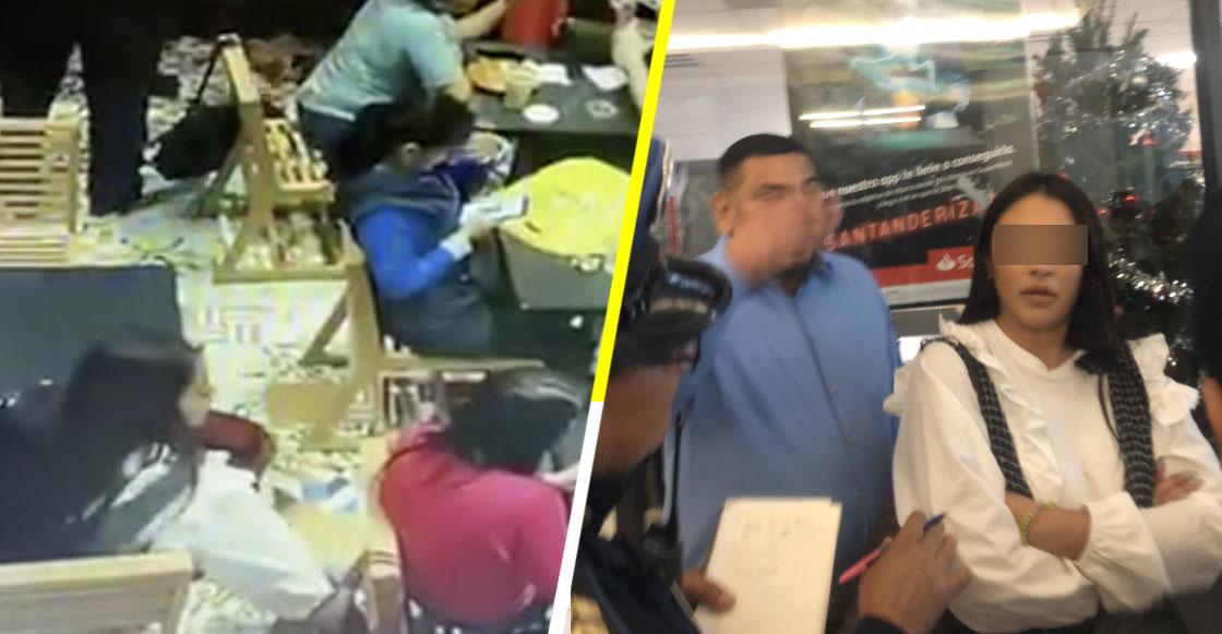 ¿Se acuerdan de la mujer que robó cartera en Coyoacán? pues las autoridades la liberaron