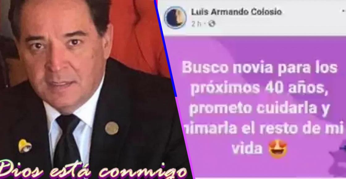 'Señores Románticos' edición 4T: Diputado de Morena busca novia por Facebook