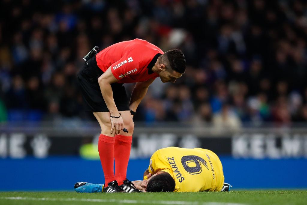 Adiós temporada: Operación de la rodilla deja fuera 4 meses a Luis Suárez