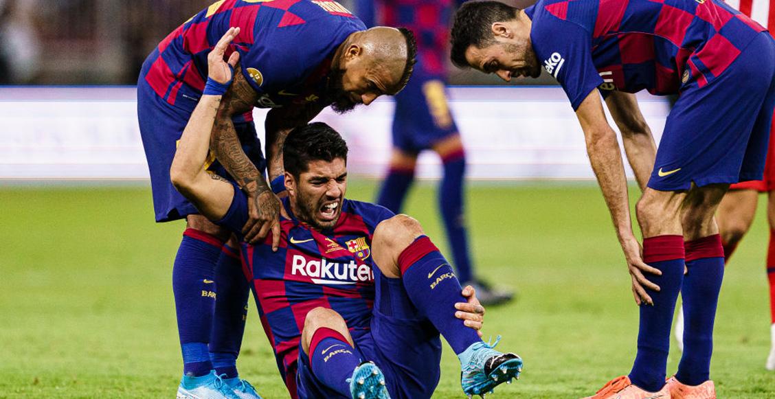 Luis Suárez será operado de la rodilla y se ausentará 'un tiempo' del Barcelona