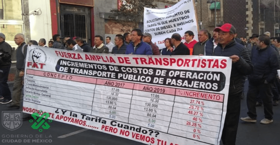 manifestación-transportistas-cdmx-tarifa-aumento