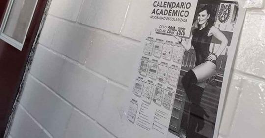 Calendarios brgs: Ponen a Maribel Guardia en calendario escolar del IPN y es una joya