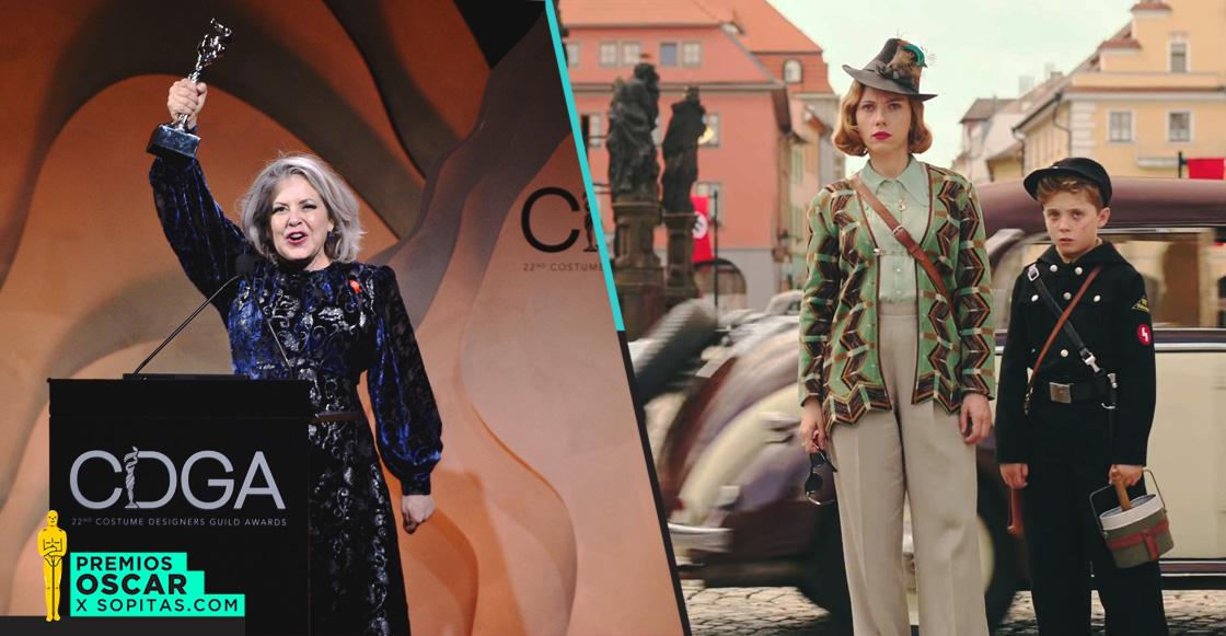 Mayes C. Rubeo, mexicana nominada al Oscar por 'Jojo Rabbit', triunfa en los Costume Designer Guild Awards