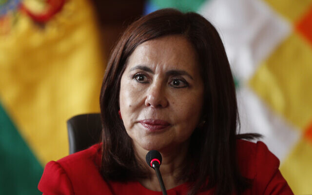 Ministra de Exteriores de Bolivia se reuniría con Ebrard en país