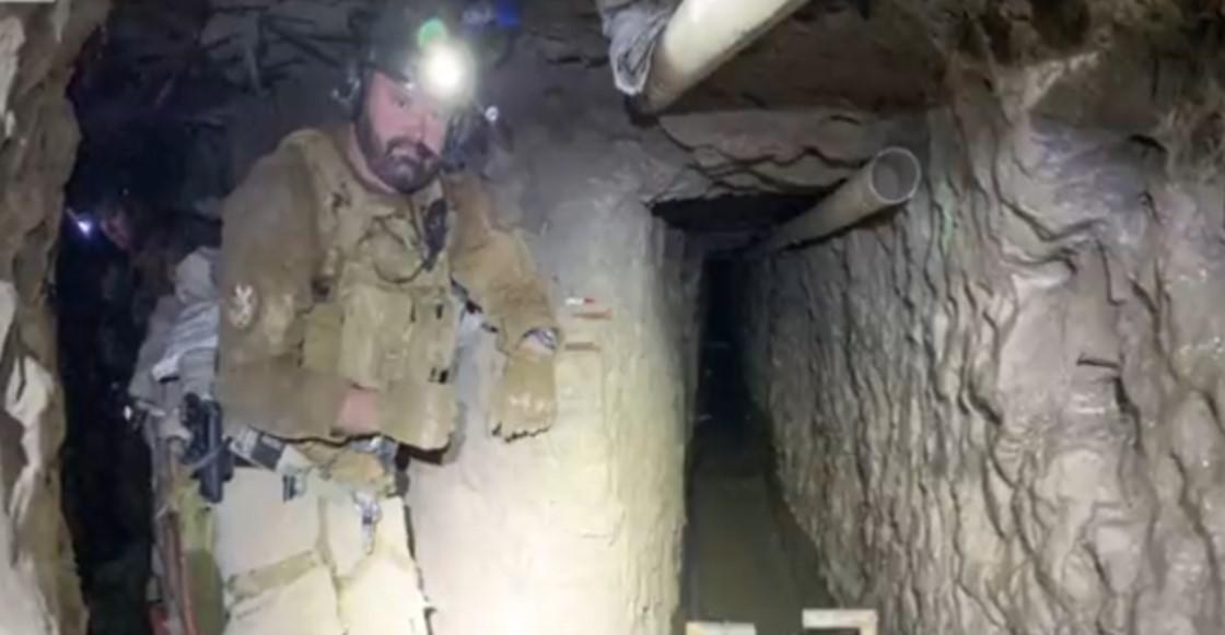 Encuentran el narco túnel más largo en la frontera de EUA y México