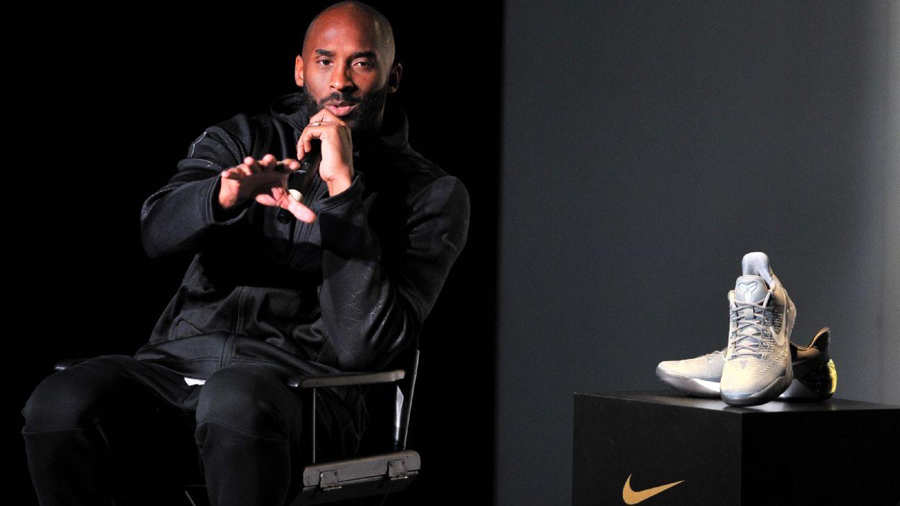 Nike retiró todos los productos de Kobe Bryant 'para no lucrar con su muerte'