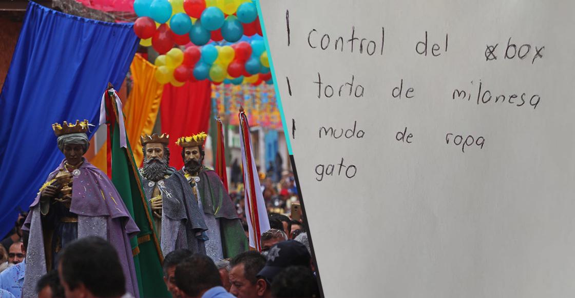 ¡La inocencia! Niño pide torta de milanesa a los Reyes Magos y su carta fue publicada en redes